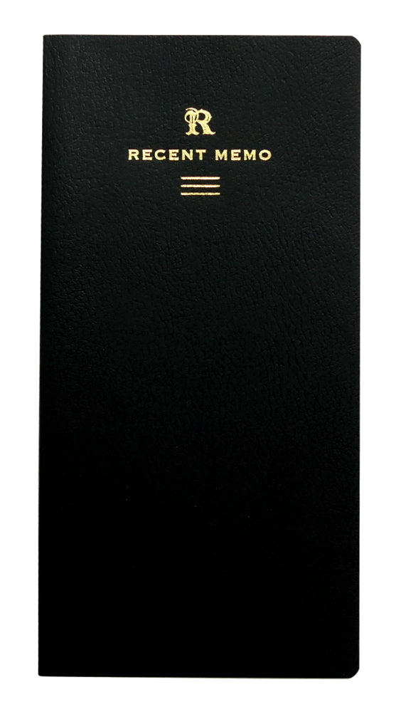 Life Stationery Recent Memo Slim Notebook- Ruled