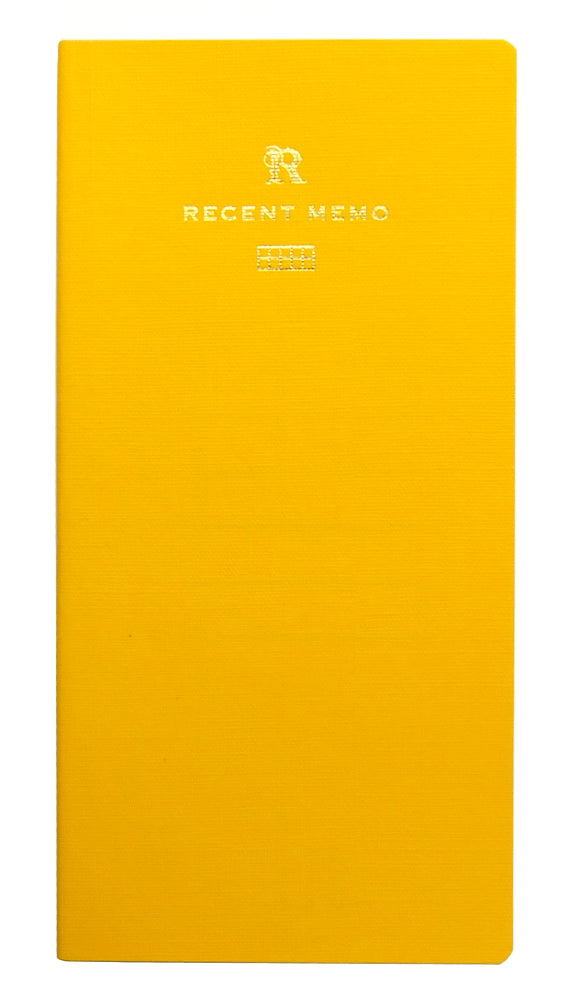 Life Stationery Recent Memo Slim Notebook- Graph