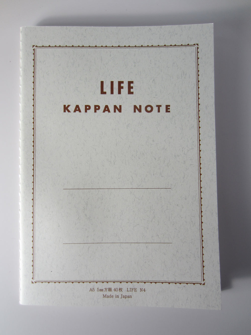 Life Stationery Kappan Note A5