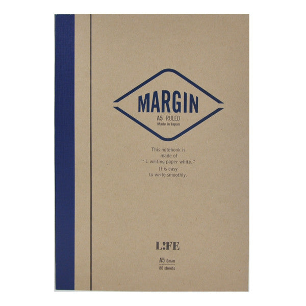 Life Stationery Margin A5 Side Bound