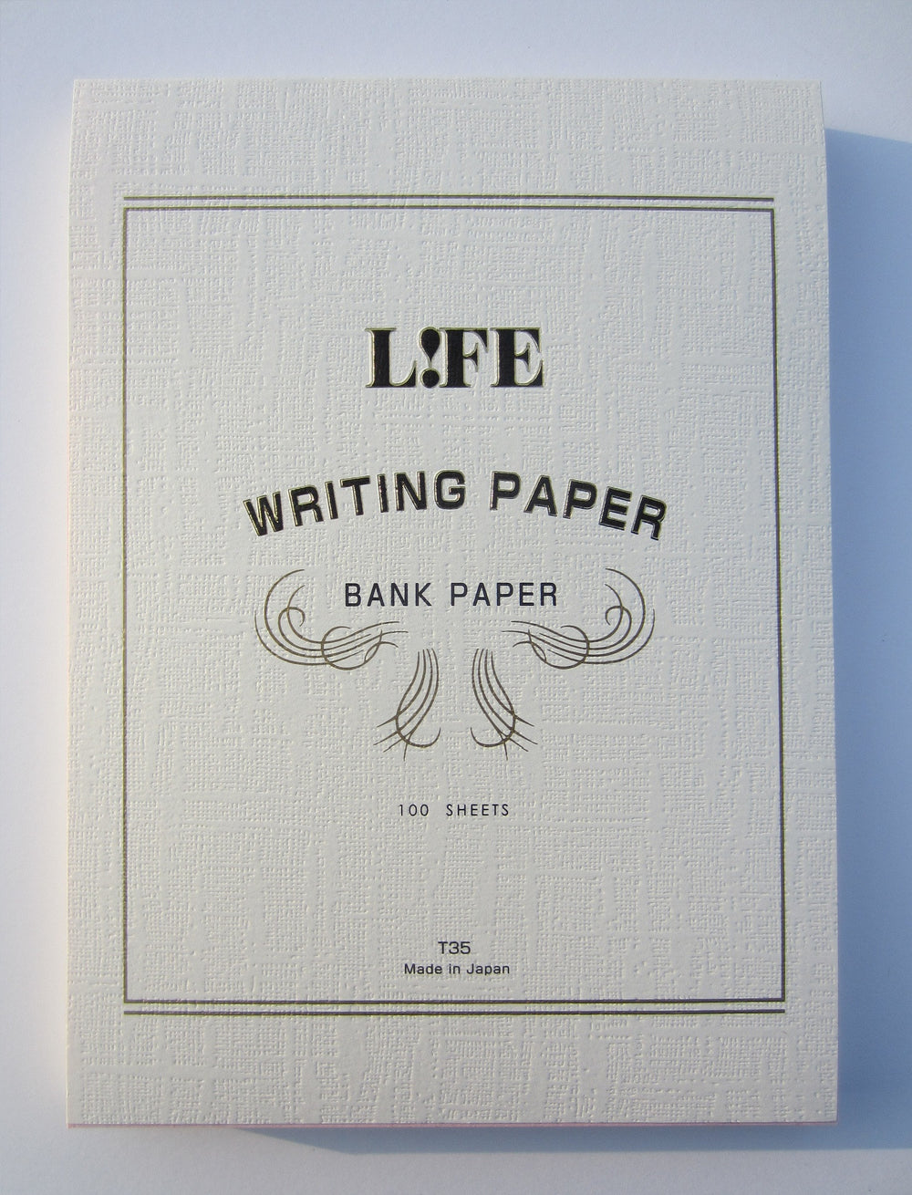 Life Stationery Bank Paper A5 Top Bound