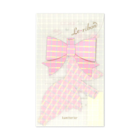 Kamiterior Le Ribon Paper Ribbon Notes