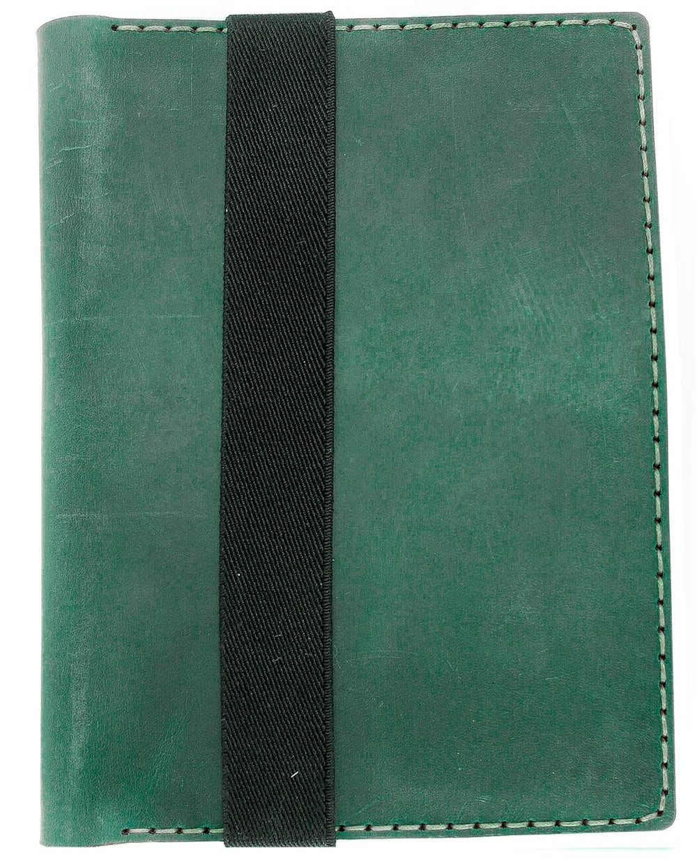 Galen Leather Co. Leather Hobonichi Cousin A5 Planner Cover- Crazy Horse Forest Green