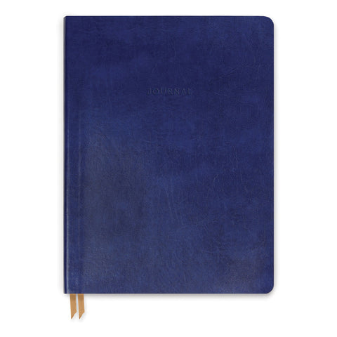 DesignWorks Medium Indigo Bonded Leather Journal