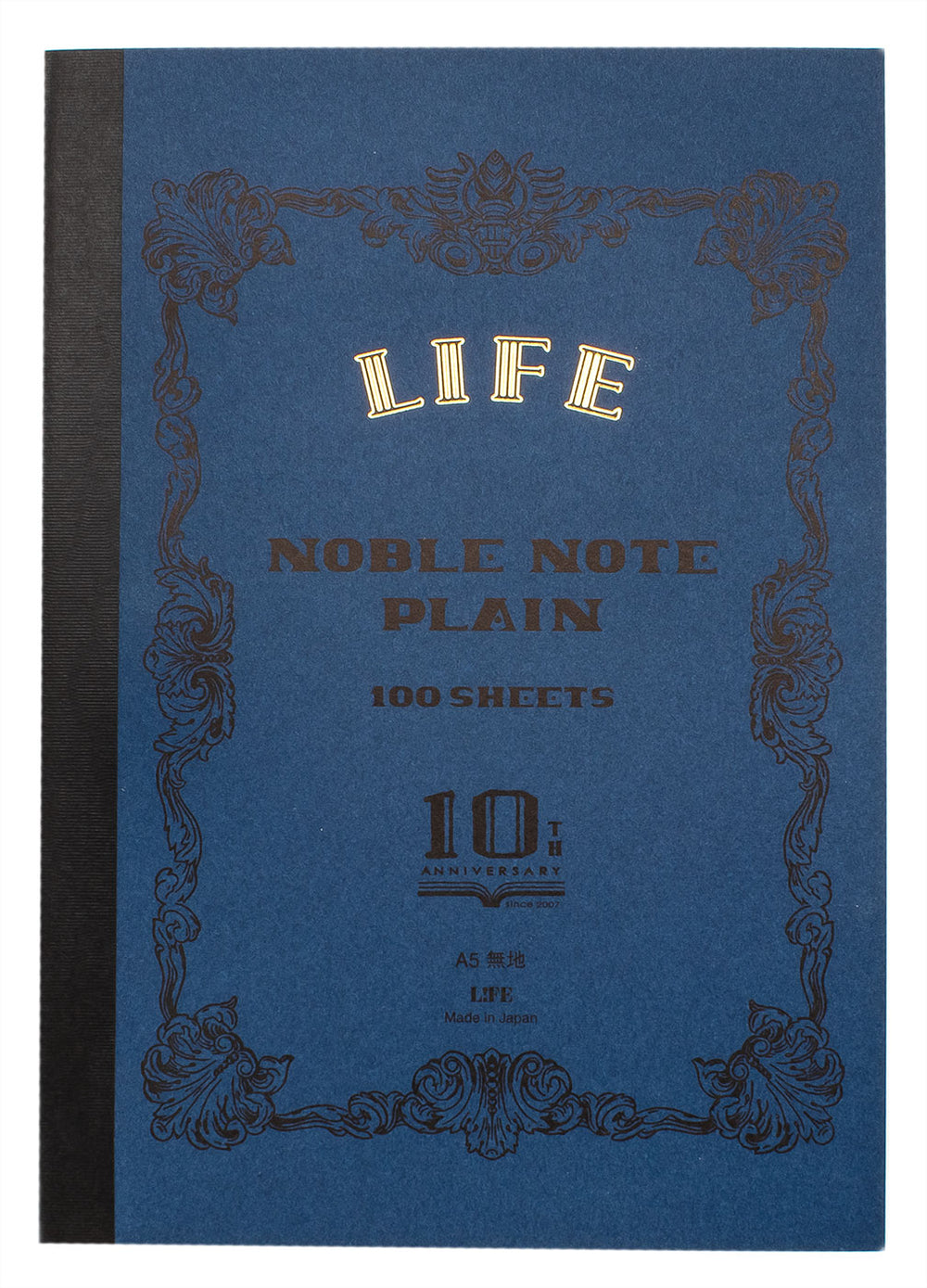 Life Stationery Limited Edition A5 Notebook- Indigo, Blank