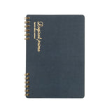 Nakabayashi Logical Prime W-Ring Binding A5 Notebook- Dot Ruled