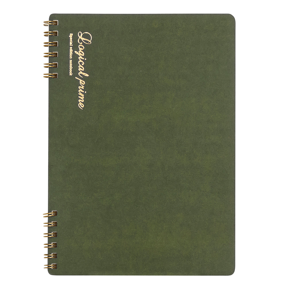 Nakabayashi Logical Prime W-Ring Binding B5 Notebook- Ruled