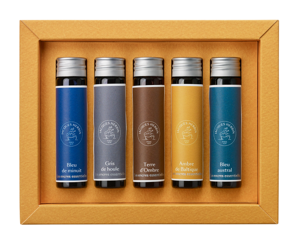 Jacques Herbin Essential Ink Miniature Set- Lunares