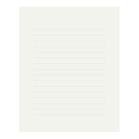 Midori MD Letter Pad Cotton Paper- Ruled