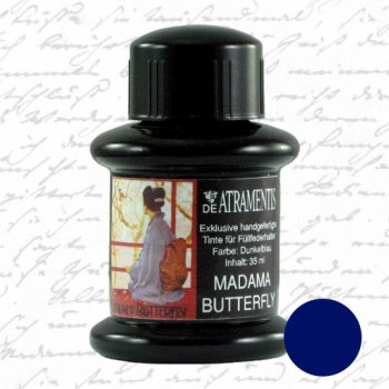 DeAtramentis MADAMA BUTTERFLY, Dark Blue