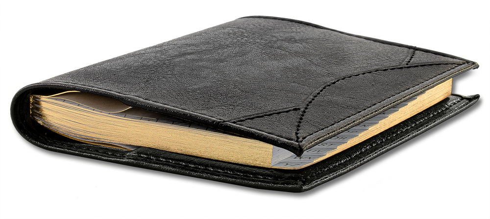 Exacompta Madeira Pocket Address Book - Black