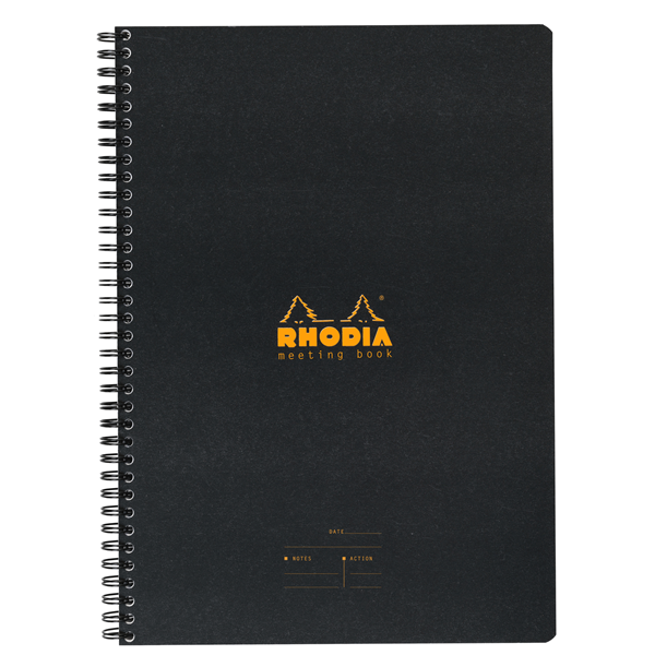 Rhodia 9 x 11.75 Meeting Book