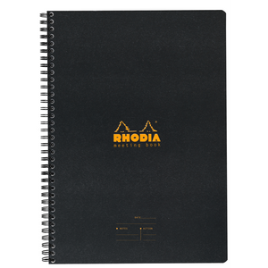 Rhodia A4 Meeting Book- Black
