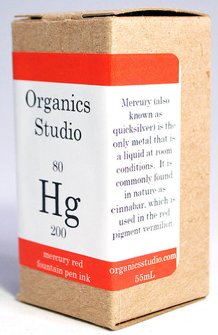 Organics Studio Elements Mercury Red