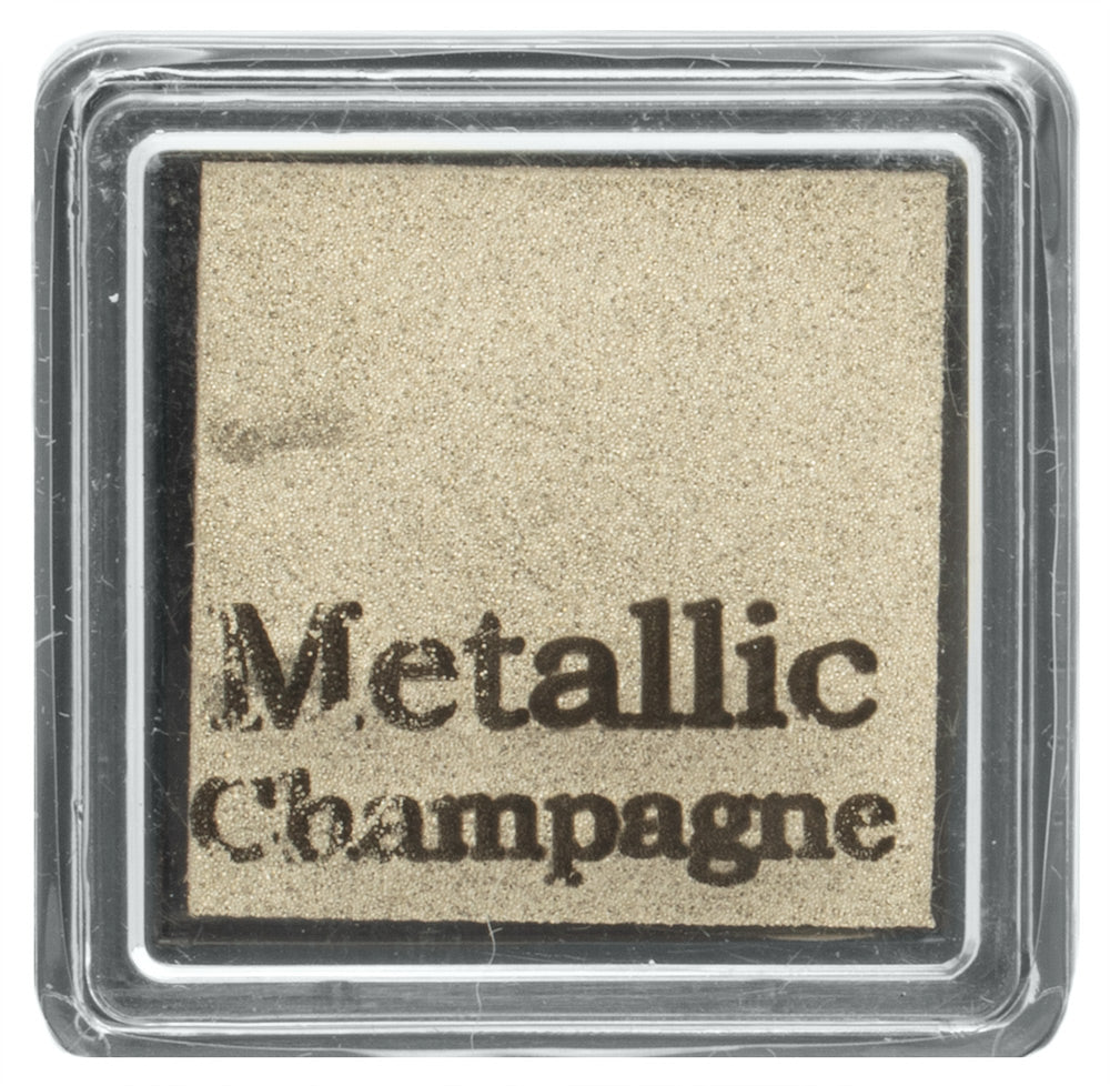 Global Solutions Metallic Champagne Stamp Pad