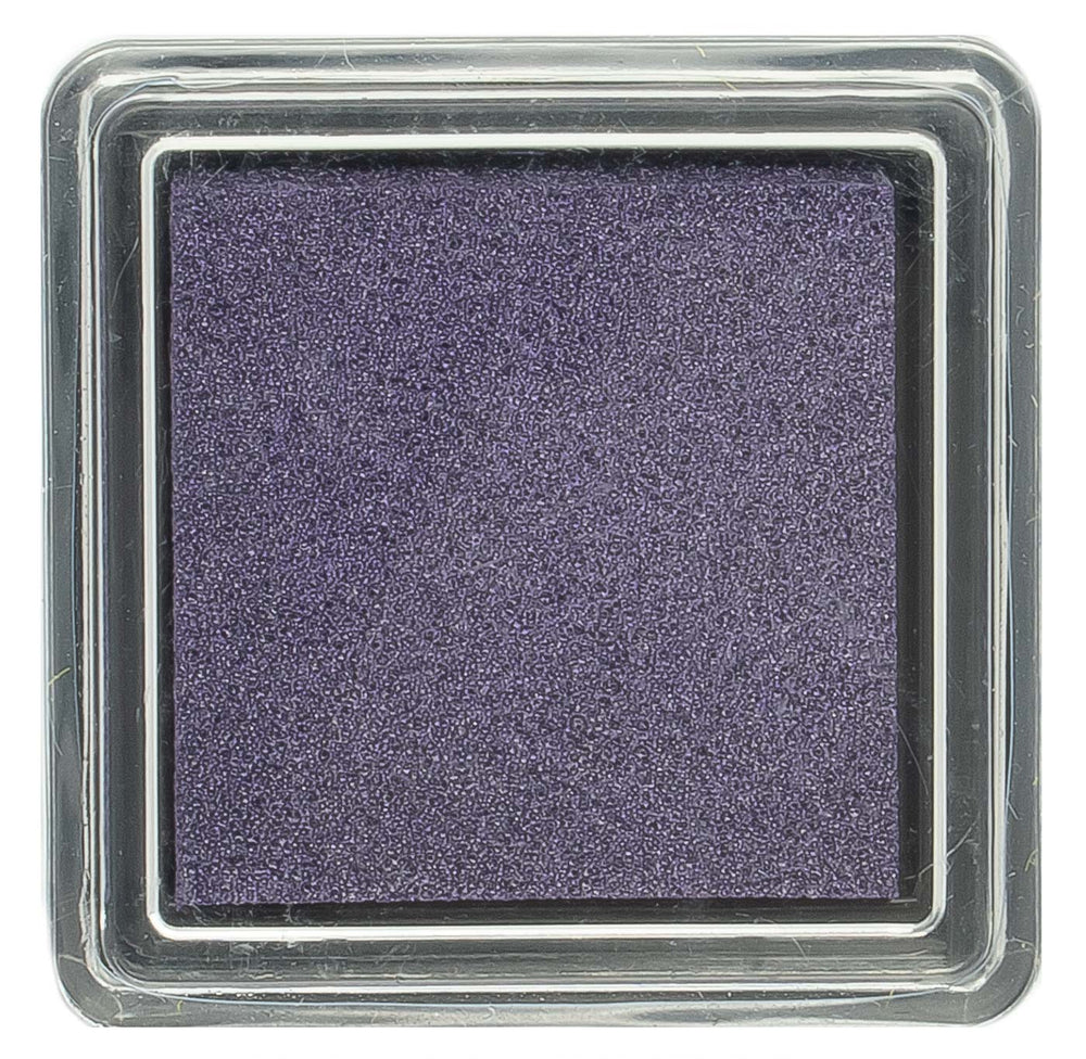 Global Solutions Metallic Purple Stamp Pad