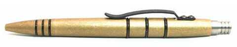 Tuff-Writer Mini Click Brass Tumbled