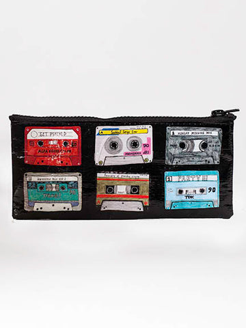 "Blue Q Pencil Pouch ""Mixtape"""