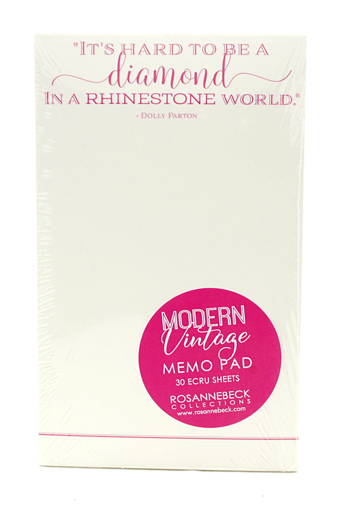 RosanneBeck Collections Modern Vintage Memo Pad- Dolly Parton