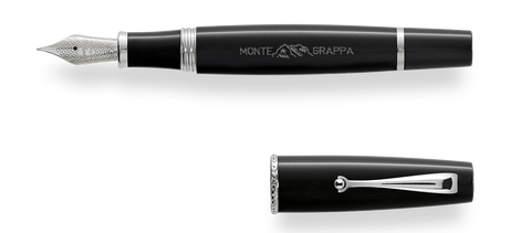 Montegrappa Monte-Grappa Black Fountain