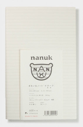 Nanuk Notebook White Stitch Side Bound