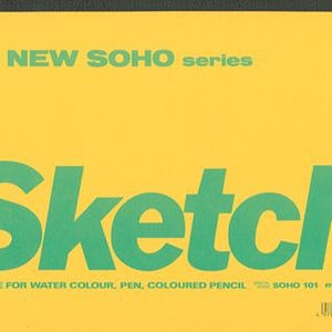 Maruman New Soho Series B5 Sketch Pad