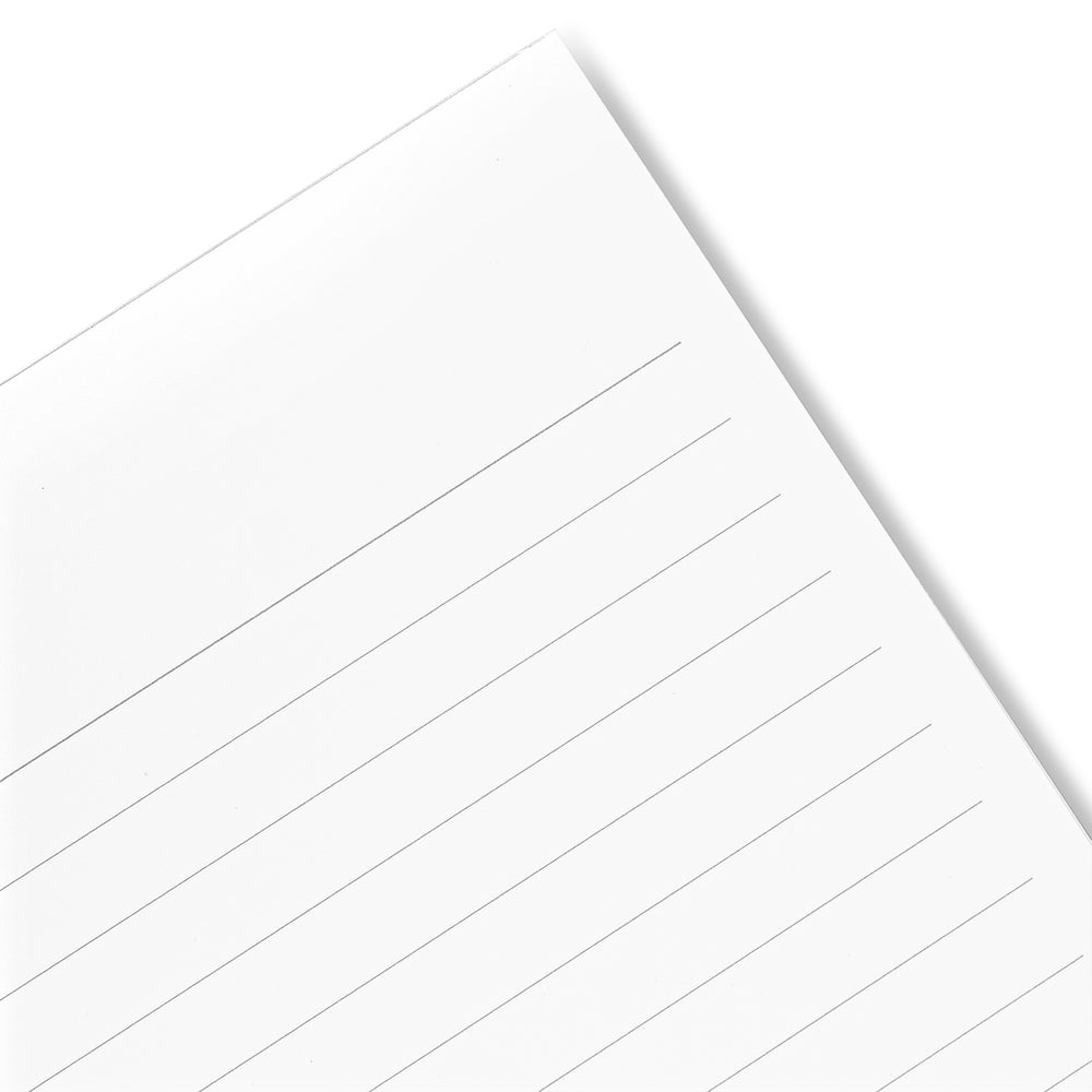 APICA CD A5 Notebook- White, 7mm Ruled