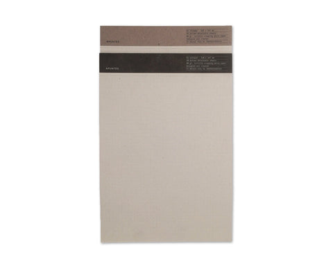 Apuntes Tortilla Wrapping A4 Notepad- White Dot Grid