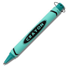 ACME Crayon Teal by Adrian Olabuenaga retractable Rollerball