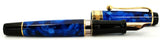 Aurora Optima Auroloide Blue, Gold Trim