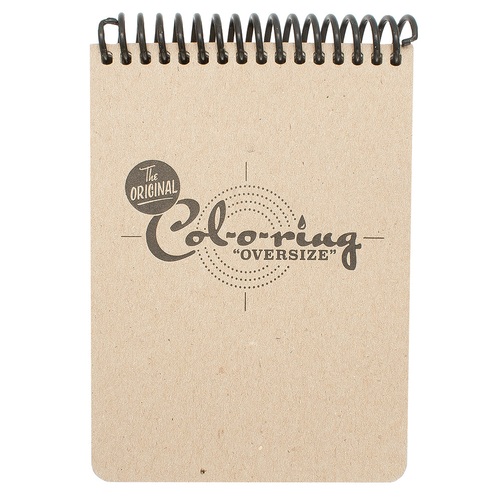 "Col-O-Ring ""Oversize"" Top Bound Ink Testing Book"