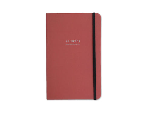 Apuntes Classic Hard Cover Notebook- Chedron/Celeste