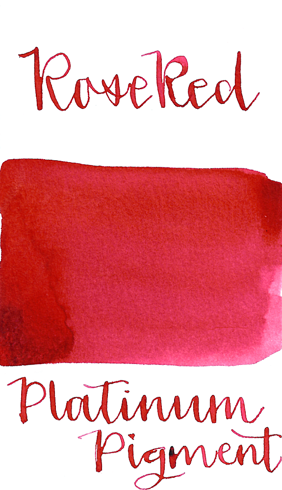 Platinum Pigment Rose Red