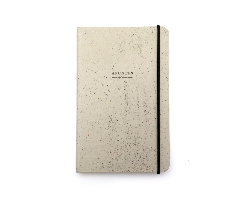 Apuntes Classic Hard Cover Notebook- Piso Beige