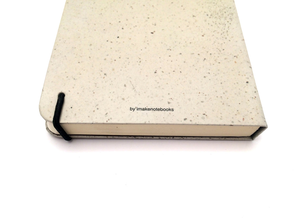 Apuntes Medium Hard Cover Notebook- Piso Beige