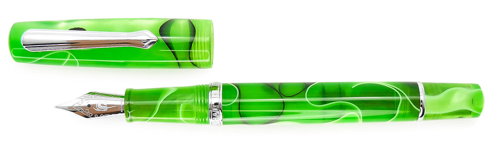Narwhal Pens Piston Filler Fountain Pen- Merman Green