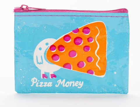 "Blue Q Coin Purse ""Pizza Money"""