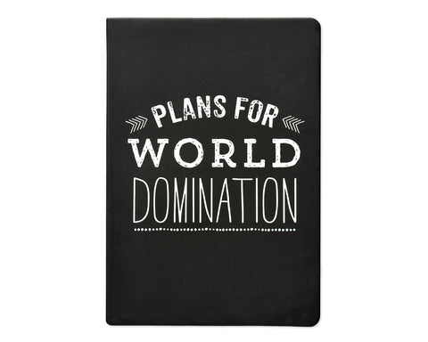 Eccolo Plans For World Domination Journal