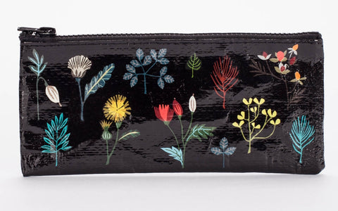 "Blue Q Pencil Pouch ""Plant Study"""