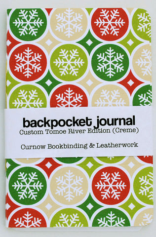 Curnow Backpocket Winter Snowflakes 1 Creme