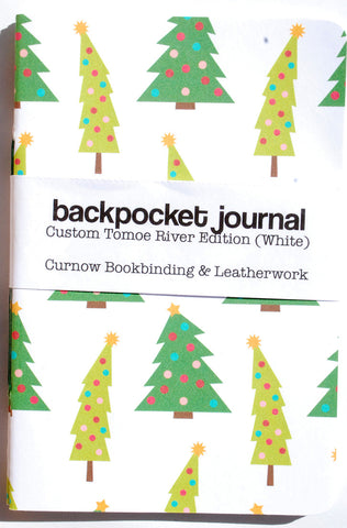 Curnow Backpocket Christmas Trees Tomoe River