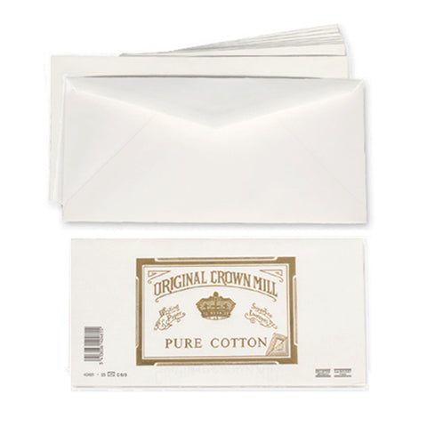 Original Crown Mill A4 Pure Cotton Envelopes