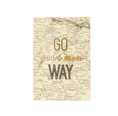 Eccolo Go Your Own Way Travel Journal