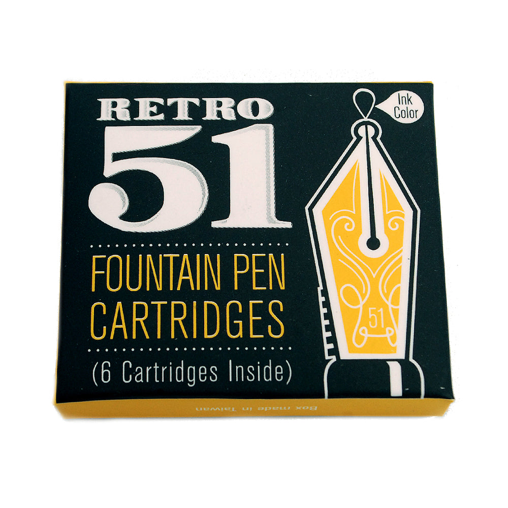 Retro 1951 Black Fountain Pen Cartridge