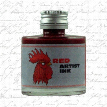 DeAtramentis Artist Ink Red
