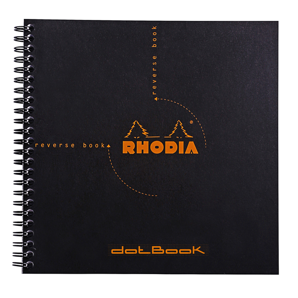 Rhodia 8.25 x 8.25 Reverse Dot Book