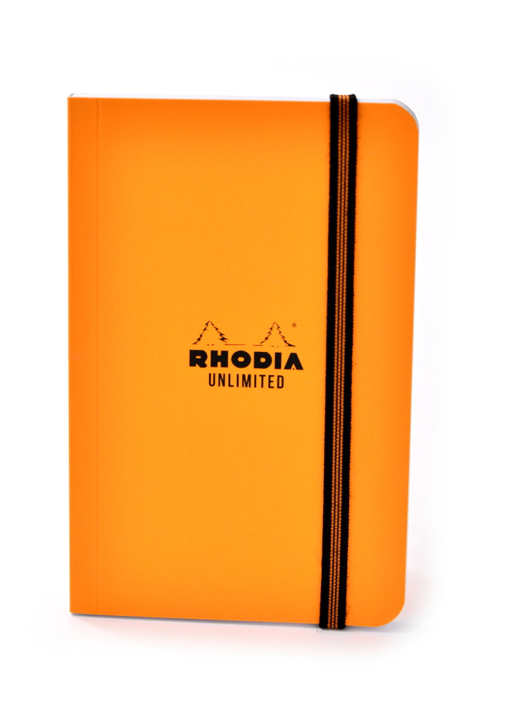 Rhodia Unlimited Pocket Notebook 3.5 x 5.5 Orange
