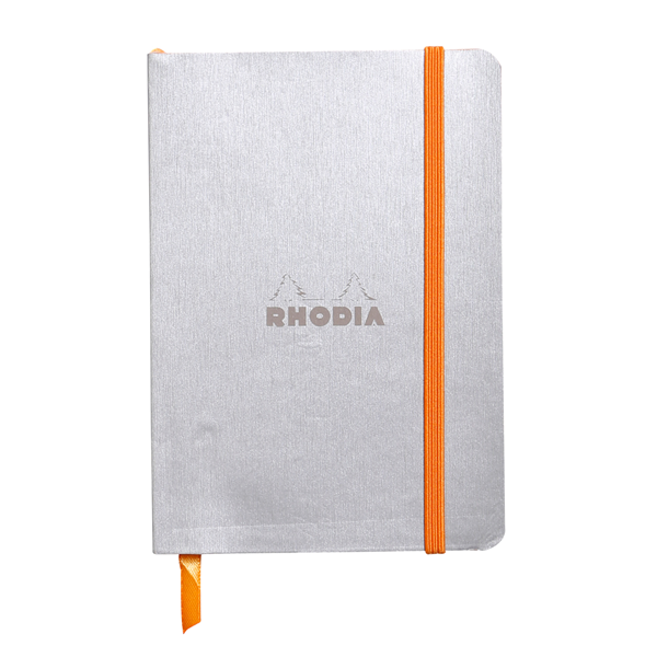 Rhodia Soft Cover Rhodiarama A6 Notebook Silver