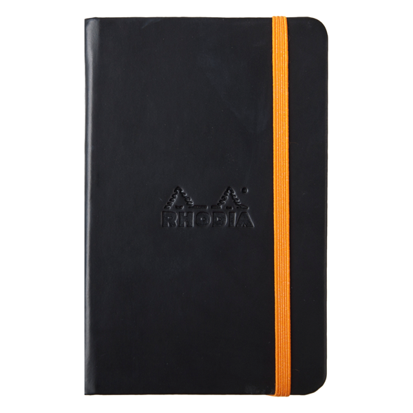 Rhodia Rhodiarama A5 Hardcover Notebook- Black