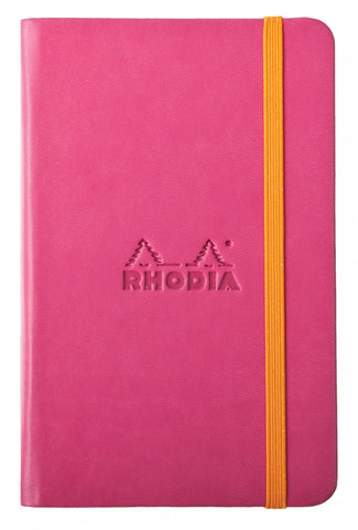 Rhodia Hard Cover Rhodiarama A5 Raspberry Notebook